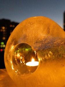 ледяные фонарики адвент
