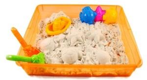 подарки для детей кинетический песок