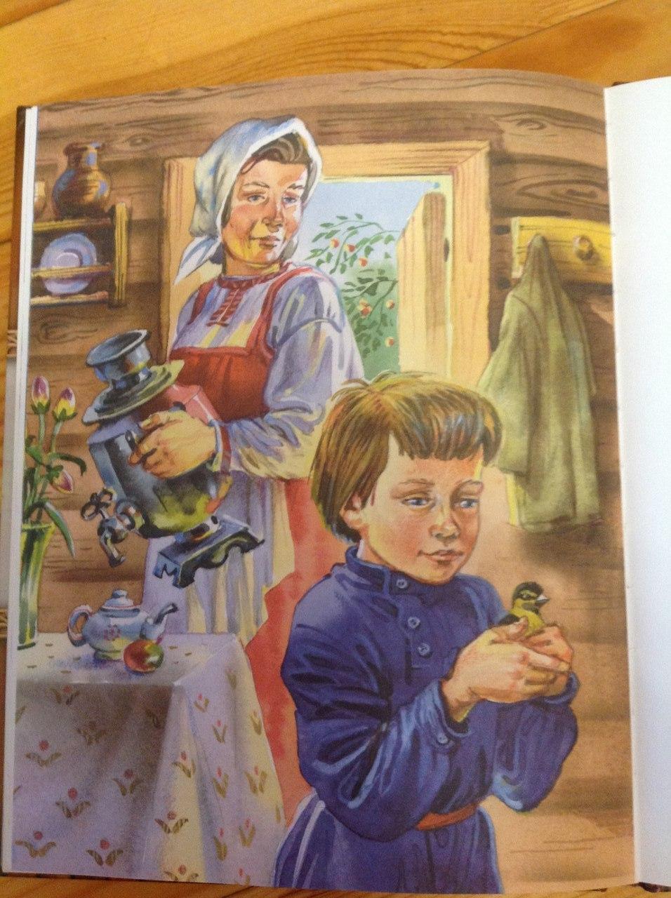 рассказы и сказки толстого для детей