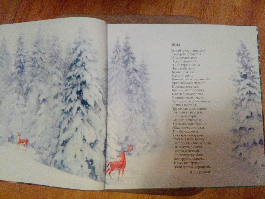 Большая поэзия для маленьких детей времена года отзыв