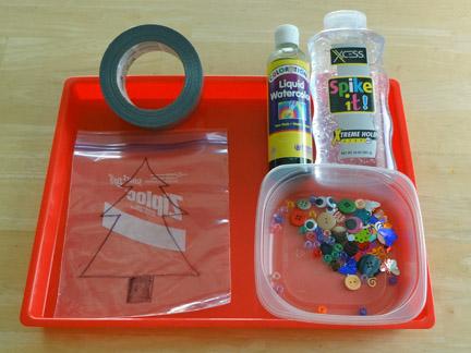 материалы для сенсорного пакета