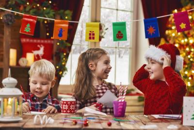 поделки новогодние ёлки