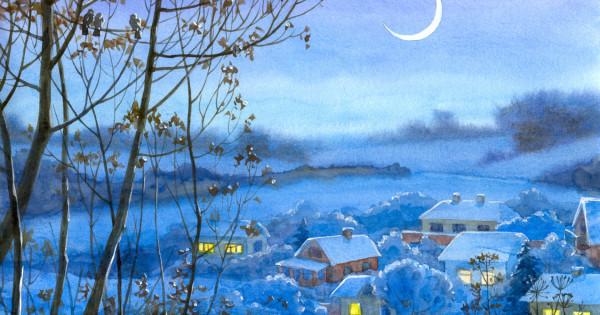 новогодние иллюстрации для детей