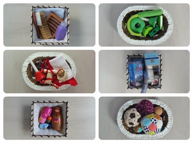 сенсорные коробки для детей
