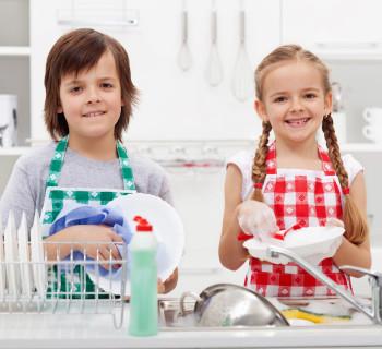 Если ребёнок не помогает по дому