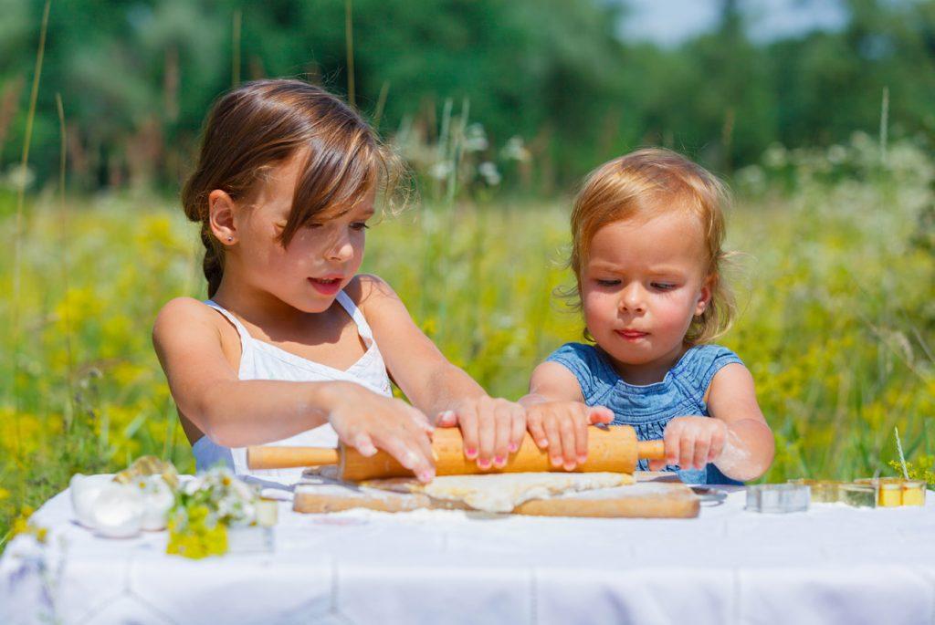 Идеи совместных занятий с детьми разного возраста