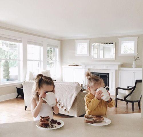 завтрак с детьми