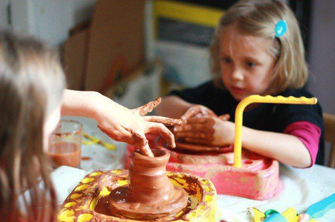 занимаемся творчеством с детьми