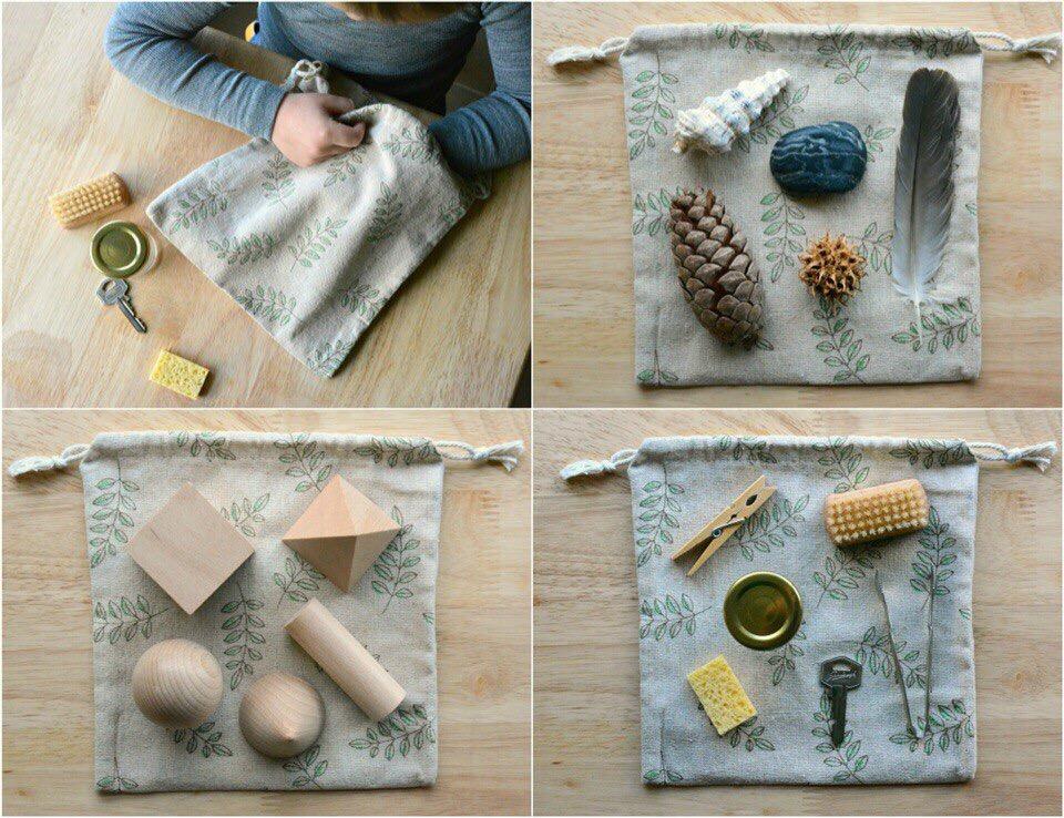 сенсорный мешочек для разновозрастных детей