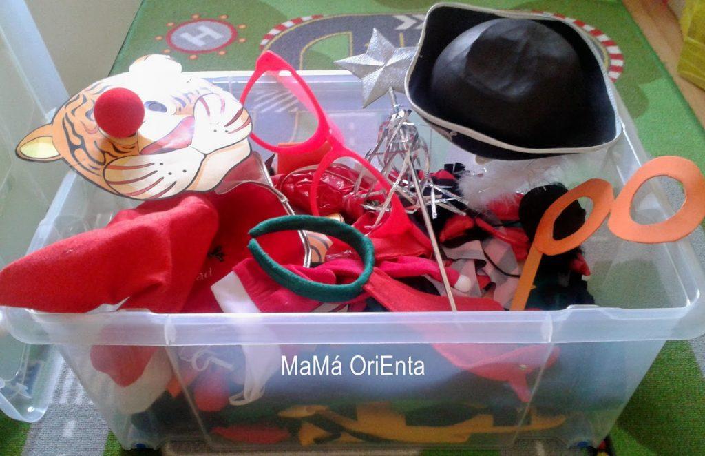 сундук с костюмами и домашний театр для детей