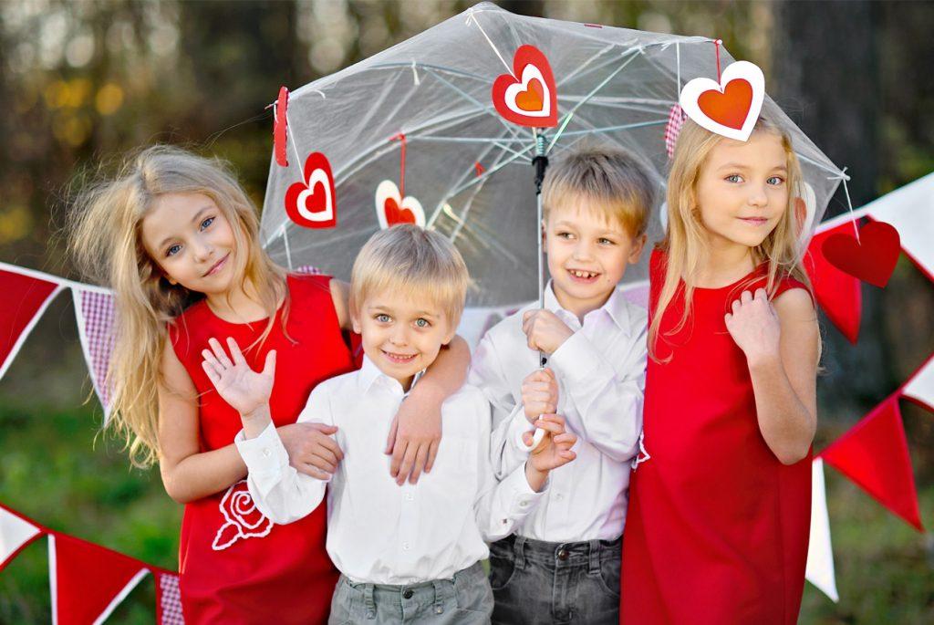 Идеи занятий с детьми ко Дню всех влюблённых