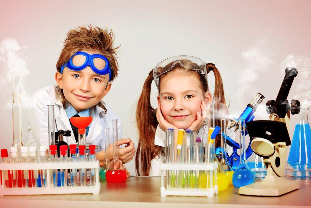 как объяснить детям химические реакции