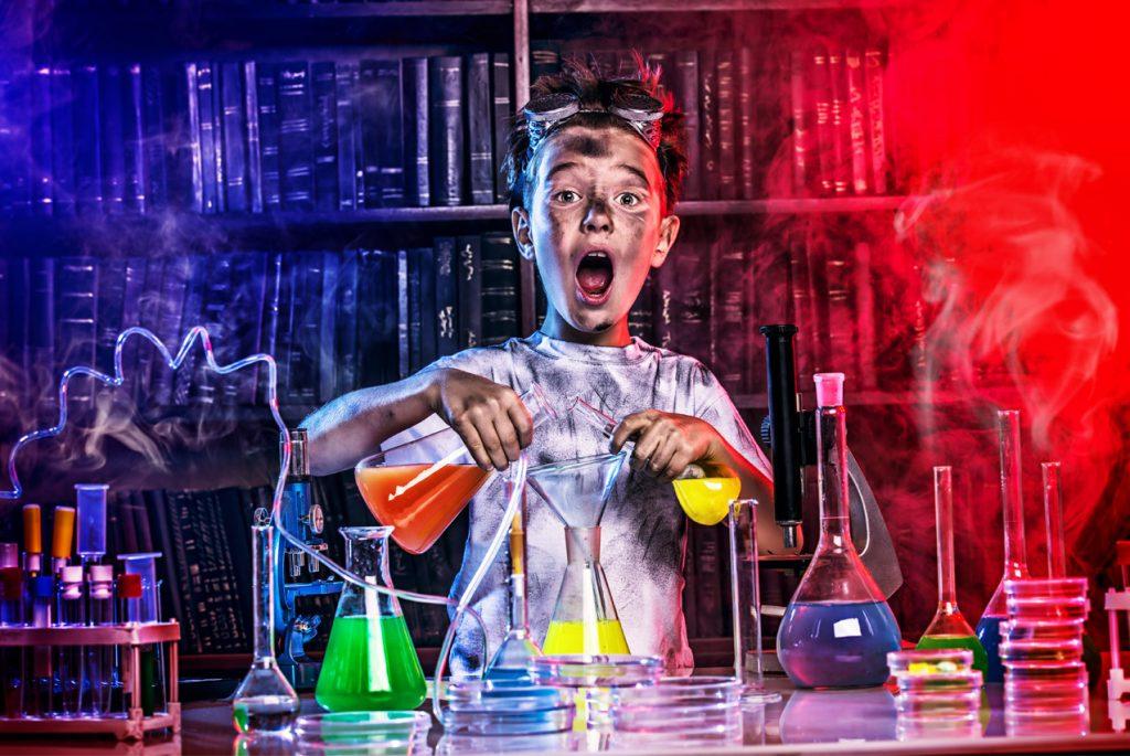 Наука и опыты для детей: что такое химические реакции?