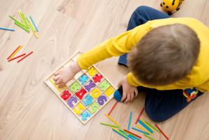 Материалы для изучения счёта с ребёнком