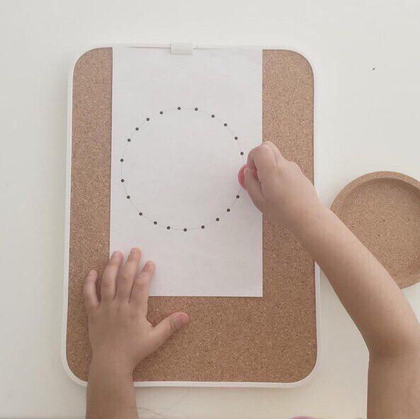 упражнение для подготовки руки к письму