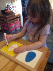 подготовка руки к письму штриховка