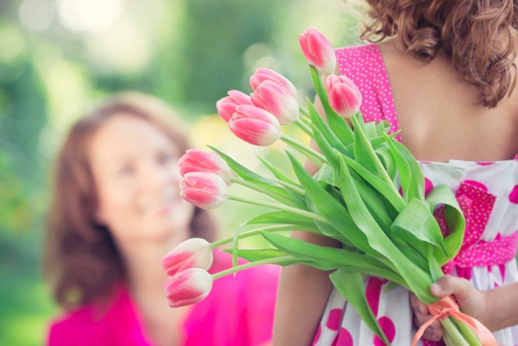 Поздравление маме с 8 марта от ребёнка