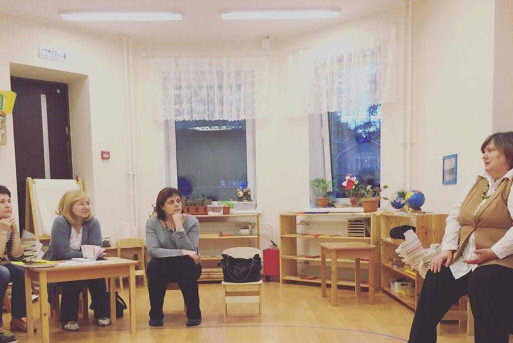 В Монтессори-центре в Королёве прошла лекция Надежды Смирновой