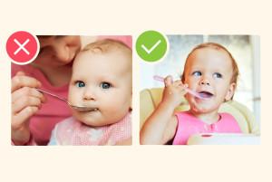Ошибки в питании маленьких детей