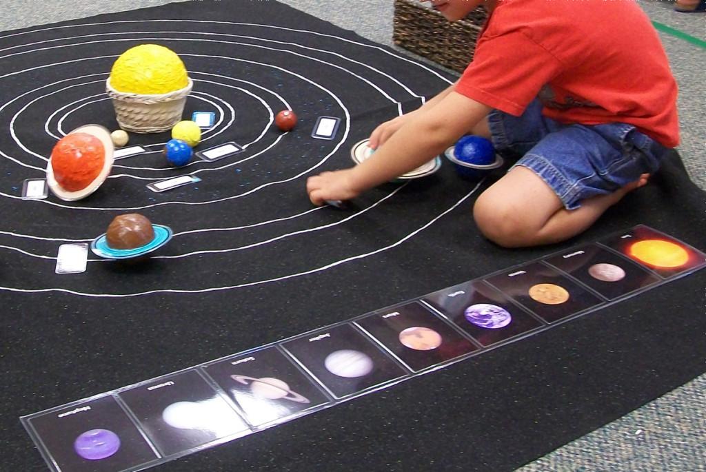 Изучаем с детьми тему «Космос»