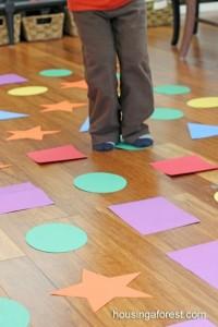 подвижные игры для детей сенсорные дорожки