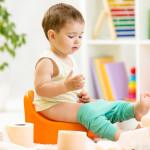 Ребёнок перестал ходить на горшок: что делать