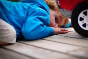 ребёнок с аутизмом