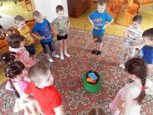 подвижные игры для детей 5 лет