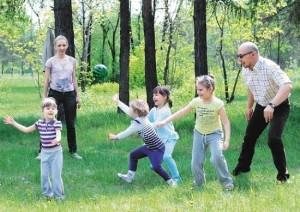 подвижные игры на улице для детей 3 лет