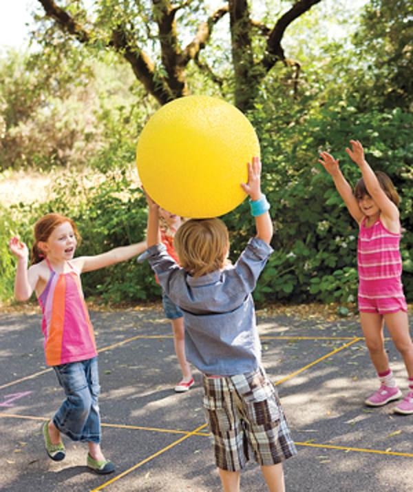 подвижные игры с мячом для младших школьников