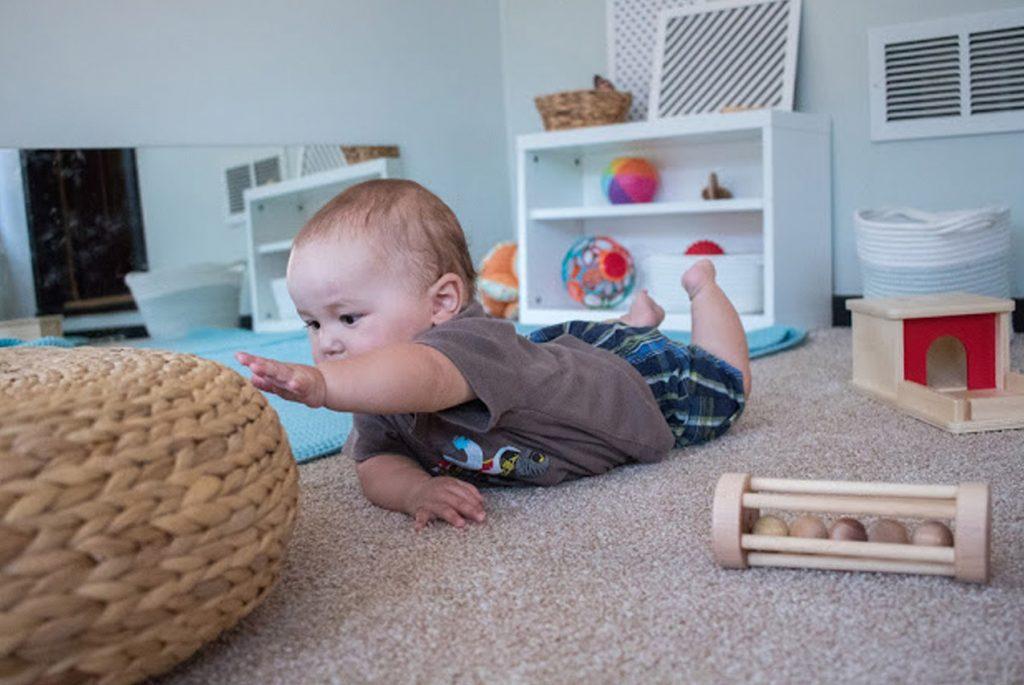 Бесплатный вебинар «Домашняя Монтессори-среда для детей от рождения до трёх лет»