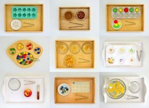 Игры для детей двух лет Перекладывания
