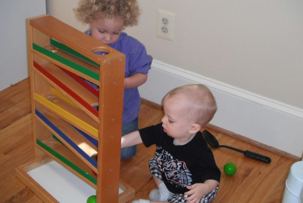 Пространство для детей с большой разницей в возрасте