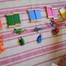 Материалы Монтессори своими руками для ребёнка 3 лет