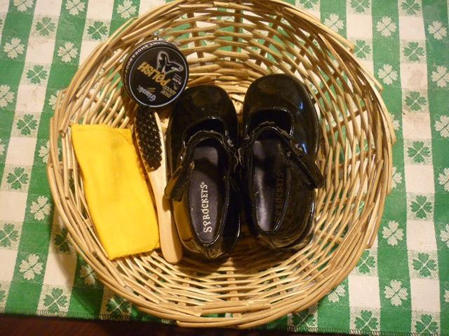 Чистка обуви Монтессори