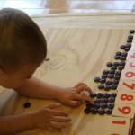 Первые упражнения в математике по Монтессори