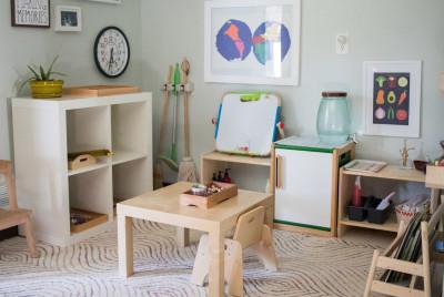 Montessori-komnata