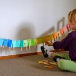 Как и с какого возраста начинать изучать цвета с ребёнком