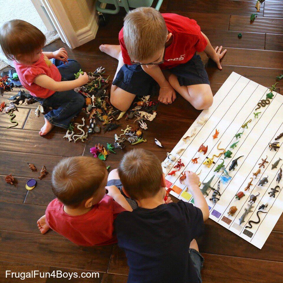 как выучить цвета с трёхлетним ребёнком