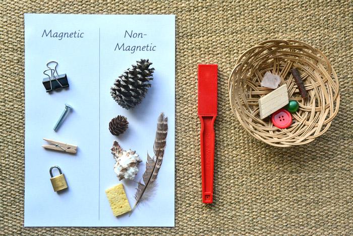 Что-притягивает-магнит — опыты для детей