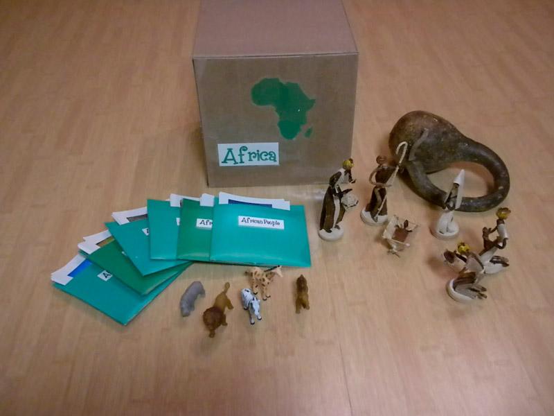 "Континентальная коробка ""Африка"""