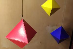 Монтессори-мобиль из октаэдров