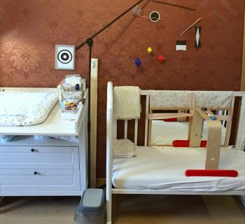 Монтессори-среда для малыша до двух месяцев