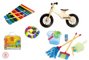Подарки детям от рождения до 6 лет