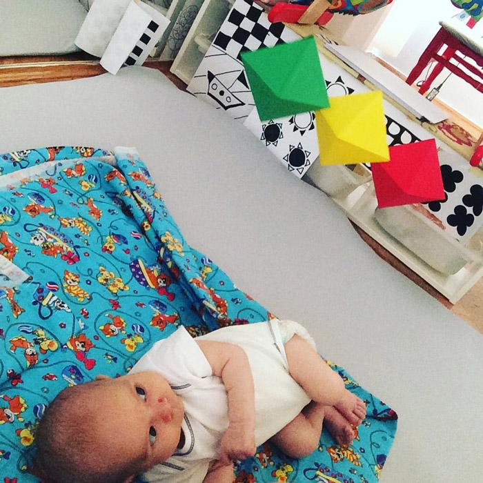 Мобили в младенчестве