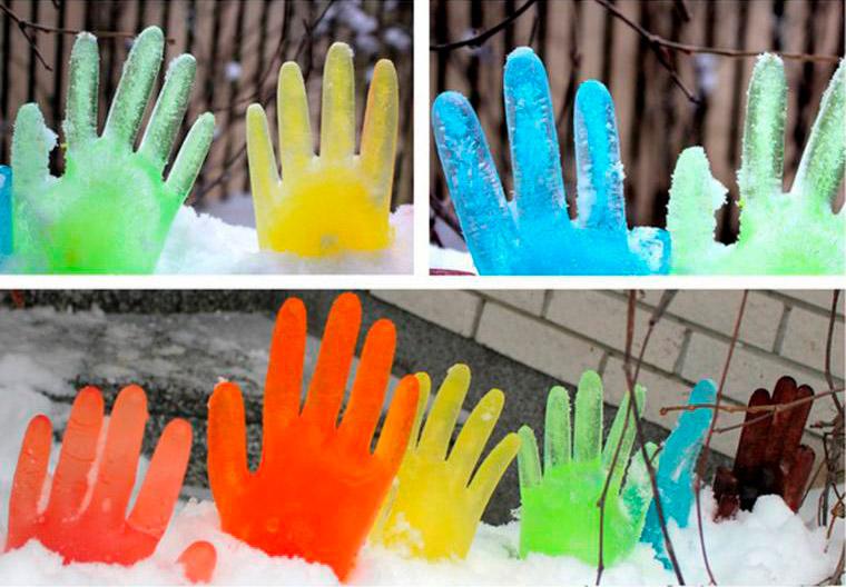 Цветной лед