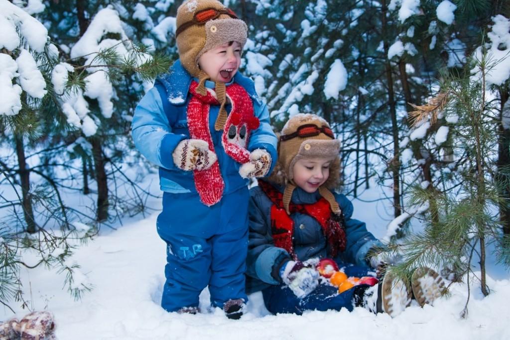 Чем заняться с детьми зимой на прогулке