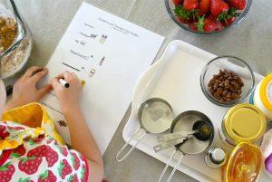 Пример иллюстрированного рецепта для детей
