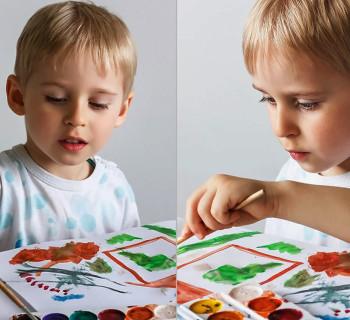 Обучение ребенка-левши