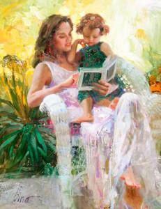 Мама-читает-с-ребенком